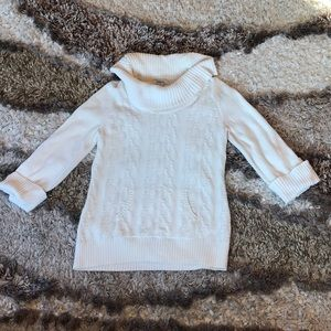 style & co cowl  neck sweater